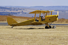 Tiger Moth Stock Photo