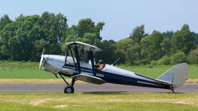 Tiger Moth Biplane Royalty Free Stock Images