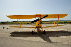 TIGER MOTH  monoplane Royalty Free Stock Photos