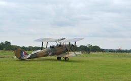 Tiger moth vintage aeroplane Royalty Free Stock Photography