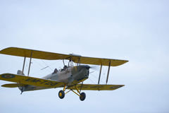 Tiger moth vintage aeroplane Stock Photography