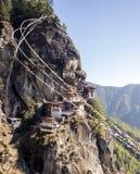 Tiger Nest Bhutan Stockfotos