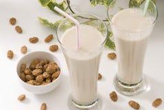Tiger nut milk. Horchata de chufa. Stock Image
