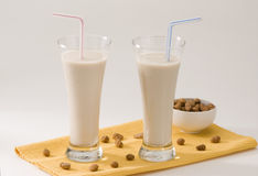 Tiger nut milk. Horchata de chufa. Stock Photography