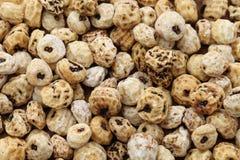Tiger nuts, spanish chufa, superfoods Stock Photos