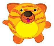 tiger with orange stripes Stock Image