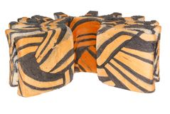 Tiger pattern bread Royalty Free Stock Photos