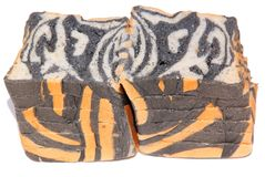 Tiger pattern bread Royalty Free Stock Photography