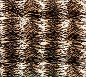 Tiger pattern fabric Royalty Free Stock Photos