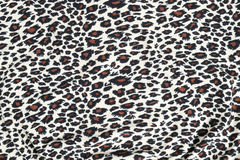 Tiger pattern fabric Stock Images