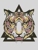 Tiger Popart Stockbilder