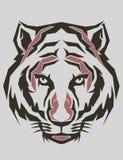 Tiger Popart Stockfoto