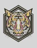 Tiger Popart Lizenzfreie Stockfotografie