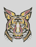 Tiger Popart Lizenzfreies Stockfoto