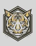 Tiger Popart Stockfotos
