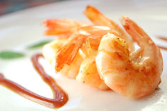Tiger Prawns Royalty Free Stock Photos