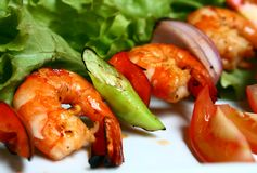 Tiger Prawns Stock Image
