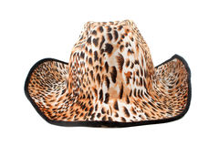 Tiger print hat Royalty Free Stock Photography