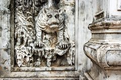 Tiger relief in Hanoi Royalty Free Stock Images