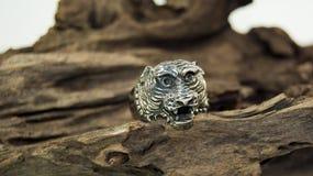 Tiger ring Royalty Free Stock Photo