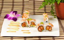 Tiger Roll Royalty Free Stock Photography