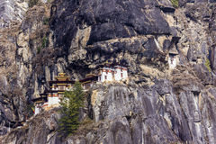 Tiger's nest, Bhutan Royalty Free Stock Photos