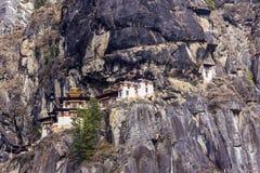 Tiger's nest, Bhutan Royalty Free Stock Photos