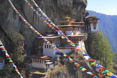 Tiger's Nest, Taktsang Monastery, Bhutan Stock Image