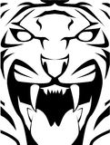 Tiger. Sign illustrator design .eps 10 Royalty Free Illustration
