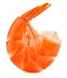 Tiger Shrimp Gamberetto isolato sui cenni storici bianchi Frutti di mare immagini stock