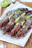 Tiger shrimp / prawns Stock Photos