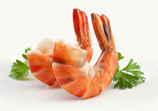 Tiger shrimp's tails Royalty Free Stock Photo