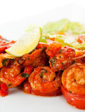 Tiger Shrimps Royalty Free Stock Images