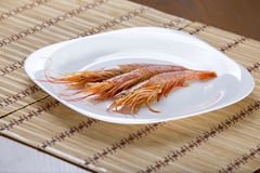 The tiger shrimps Royalty Free Stock Photo