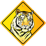 Tiger Sign Stock Photos