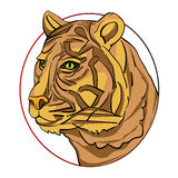 Tiger sign Royalty Free Stock Image