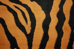 Tiger skin. Pattern on the carpet Royalty Free Stock Photos