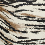 Tiger skin artificial pattern Stock Image