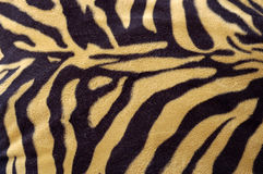 Tiger skin pattern Stock Photography