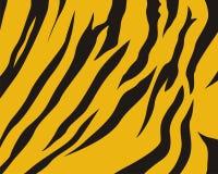 Tiger Skin Pattern. A pattern of a tiger's striped skin, ideal for background design royalty free illustration