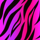 Tiger Skin Purple Seamless Surface Pattern,Pink Tiger Skin Repeat Pattern for Textile Design, Fabric Printing, Fashion, royalty free illustration