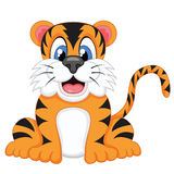 Tiger with a smile Stock Photos