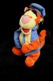 Tiger soft  plush toy Stock Photo