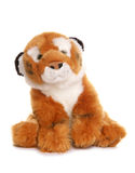 Tiger soft toy. On white background Royalty Free Stock Images