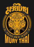 TIGER SPIRIT MUAY THAI. The Tiger are an animal that has related with many culture as a symbols, totem, or as spirit guard. In Muay-thai, Tiger always have Stock Photography