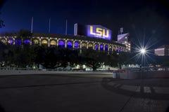 Tiger Stadium en LSU Foto de archivo libre de regalías