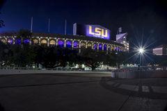 Tiger Stadium på LSU Royaltyfri Foto