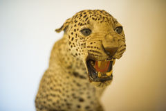 Tiger statue in the room Stock Photography
