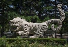 Tiger Statues Imagem de Stock