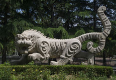 Tiger Statues Stock Image